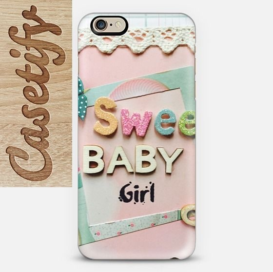 【送料込】☆Casetify sweet baby girl iPhoneケース☆