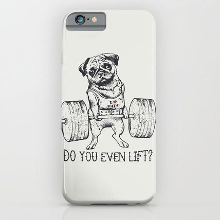 Society6 iPhone・スマホケース Society6 ケース Do You Even Lift by Huebucket