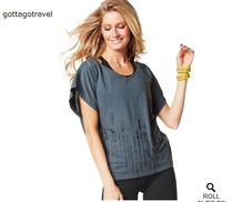 XS/S数量限定♪ZumbaズンバWay To Word It Fancy Top-DS