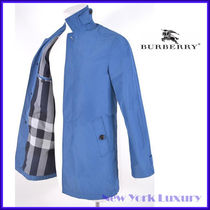 Burberry Brit★素敵!LANGLEY IMPERIAL BLUE COAT