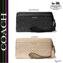 ★Coach★MADISON DOUBLE ZIP WALLET
