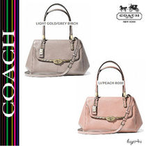 ★Coach★MADISON SMALL MADELINE EAST/WEST SATCHEL IN LEATHER