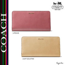 COACH★MADISON SKINNY WALLET IN LEATHER