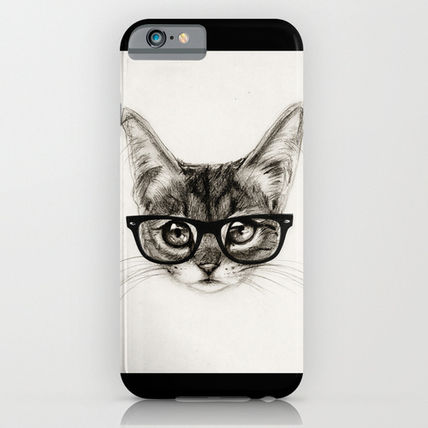 Society6 iPhone・スマホケース Society6 ケース Mr. Piddleworth by Isaiah K. Stephens