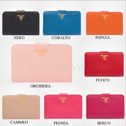sold out inevitable PRADA Saffiano bifold wallet 1M1225