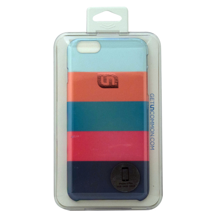 日本初  iPhone6 Plus ケース Uncommon Lifesaver Stripe Coral