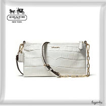 COACH★MADISON KYLIE CROSSBODY IN CROC EMBOSSED LEATHER