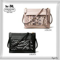 COACH★FELICIA CROSSBODY IN TWO TONE PYTHON EMBOSSED LEATHER