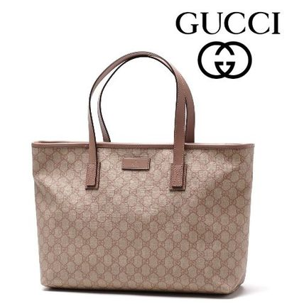 15春夏新作 ☆Gucci☆ GG Supreme Canvas Tote♪
