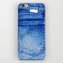 【海外限定】society6♥jeans_smile iPhoneシール