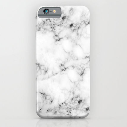 Society6 iPhone・スマホケース Society6 ケース Real Marble by Grace