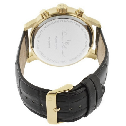 SALE!! Lucien Piccard (ルシアンピカール) Mens Leather Watch