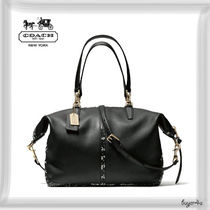 COACH★COOPER SATCHEL IN TWO TONE PYTHON EMBOSSED LEATHER