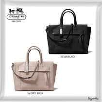 COACH★BLEECKER RILEY CARRYALL IN LEATHER