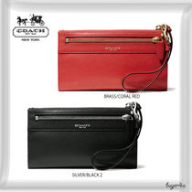 COACH★LEGACY ZIPPY WALLET IN LEATHER