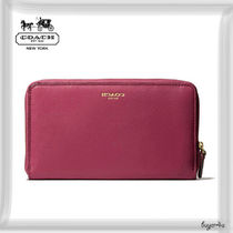 COACH★LEGACY CONTINENTAL ZIP WALLET IN LEATHER