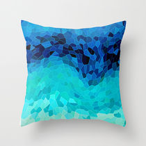 Society6★クッションカバー★INVITE TO BLUE by Catspaws