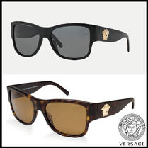 SALE!! VERSACE - VE4275 (Black/Brown) Sunglass ユニセックス