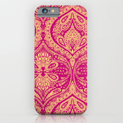 Society6 iPhone・スマホケース Society6 ケース Simple Ogee Pink by Aimee St Hill