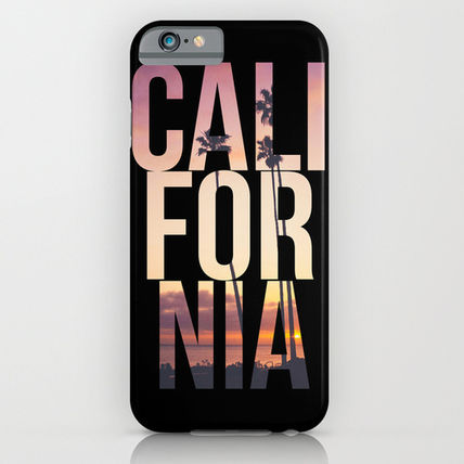 Society6 iPhone・スマホケース Society6 ケース CALI FOR NIA by Thecrazythewzrd