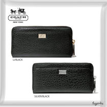 COACH★MADISON ACCORDION ZIP WALLET IN LEATHER