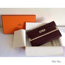 【HERMES】憧れの★Kelly Wallet Long