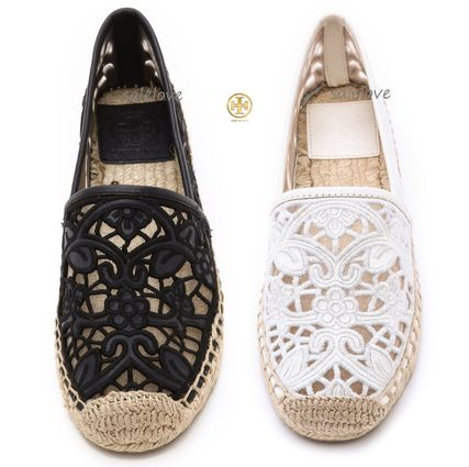 Limited sale popular lace Tory Burch espadrille