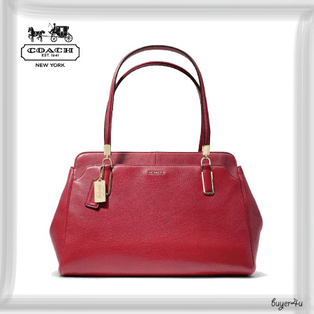 COACH★MADISON KIMBERLY CARRYALL IN LEATHER
