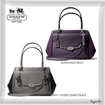 COACH★MADELINE EAST/WEST SATCHEL IN SAFFIANO LEATHER