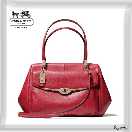 COACH★MADISON MADELINE EAST/WEST SATCHEL IN LEATHER