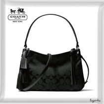 COACH★LEGACY DOUBLE GUSSET CROSSBODY IN SIGNATURE FABRIC