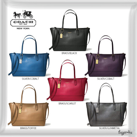 COACH★CROSSBODY CITY TOTE IN SAFFIANO LEATHER