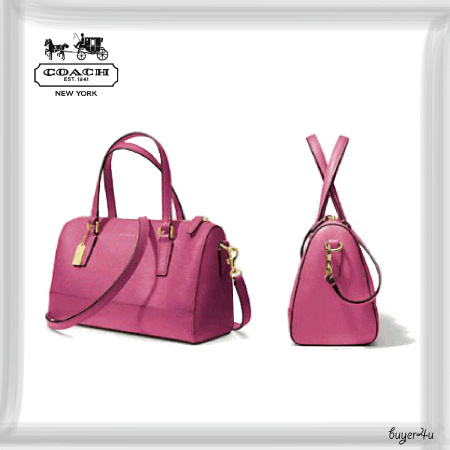 COACH★MINI SATCHEL IN SAFFIANO LEATHER