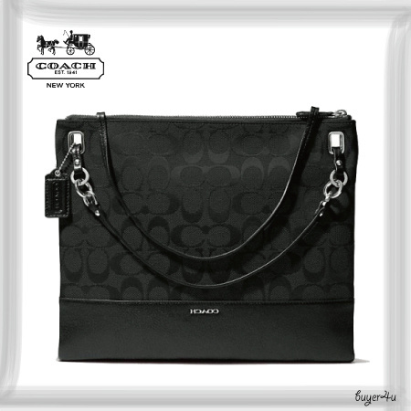 COACH★MADISON CONVERTIBLE HIPPIE IN SIGNATURE FABRIC