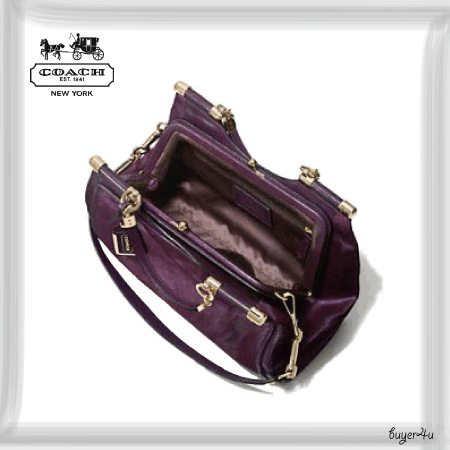 COACH★MADISON CARRIE IN MIXED HAIRCALF