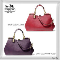 COACH★MADISON CARRIE SATCHEL IN LEATHER