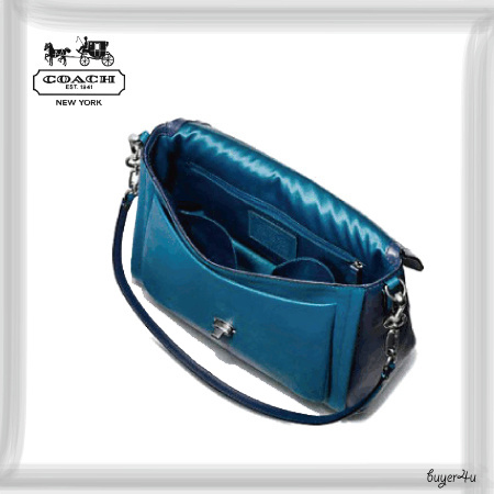 COACH☆SADIE FLAP SATCHEL IN SPECTATOR SAFFIANO LEATHER