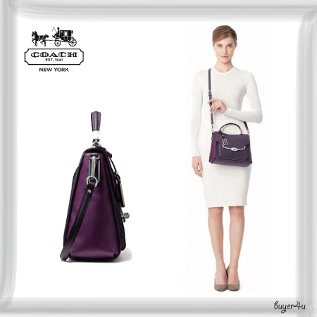COACH*SPECTATOR SMALL SADIE FLAP SATCHEL IN SAFFIANO LEATHER