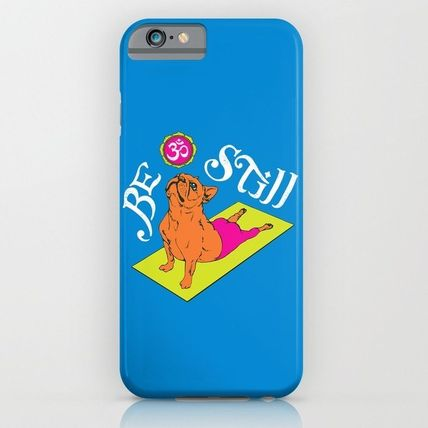 Society6 iPhone・スマホケース Society6 ケース Frenchie Yoga by Huebucket