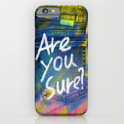 Society6 iPhone・スマホケース Society6 ケース Painted jeans by M366