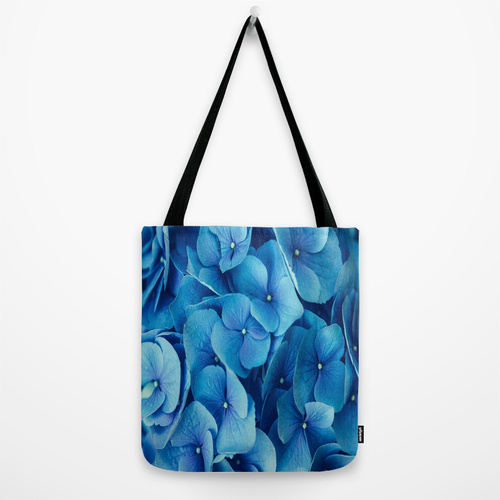 Society6◆トートバッグ◆M - 約40cm x 約40cm◆French Blue by