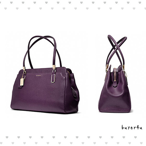 【coach】MADISON KIMBERLY CARRYALL IN LEATHER