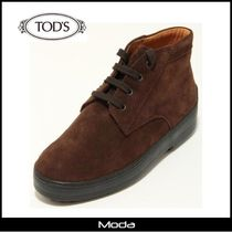 TOD'S(トッズ) キッズブーツ ★TOD'S★トッズブラウンスエードブーツ〈国内発送・関税無〉