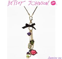 ★セール即発★BETSEY JOHNSON - Multi Charm Pendant★