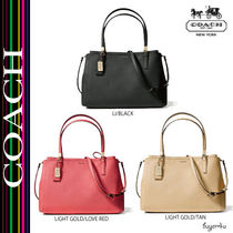 COACH★MADISON CHRISTIE CARRYALL IN SAFFIANO LEATHER