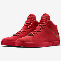 "NEW!!!! Nike - Lebron 12 Lifestyle ""Challenge Red"""