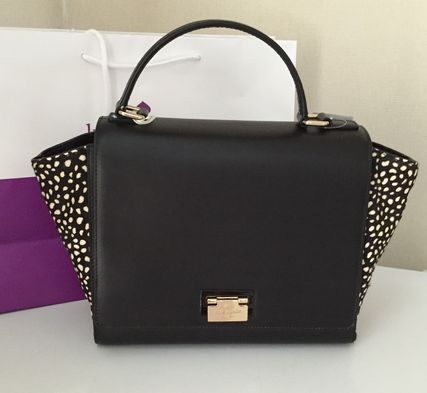 Kate spade laurel park haircalf  耳付きハンドバッグ 大 2way