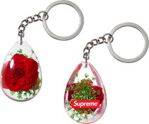 Supreme 15 S/S Tear Drop Rose Keychain