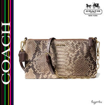 COACH★MADISON KYLIE CROSSBODY IN PYTHON EMBOSSED LEATHER