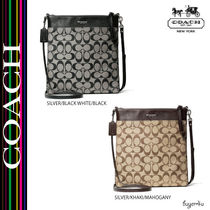 COACH★BLEECKER LARGE SWINGPACK IN SIGNATURE COATED CANVAS